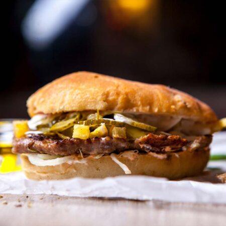 Pleskavița & Hamburger